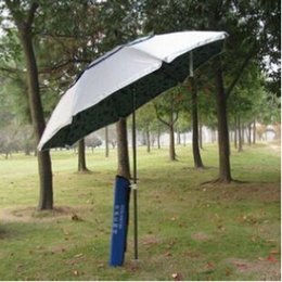 Wholesale Outdoor Big Fishing Beach Umbrella Folding Multi function Long Handle Umbrellas East to Carry