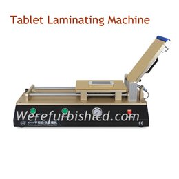 Wholesale Auto automatic Vacuum OCA film Laminating machine Polarizer Film Laminator with vacuum pump air compressor for iPhone for Tablet for Samsung
