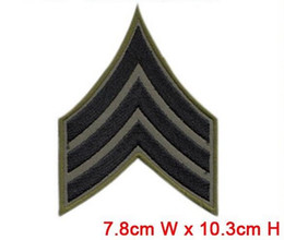 Wholesale America USA hot sale shoulder mark army military patch for garment bag hat classical made in china badges