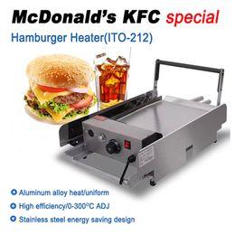 Wholesale ITO McDonald s KFC Hamburger heating machine Hamburger bakeware Bread baking machines Burger heater