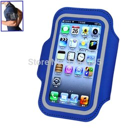 Wholesale-Stylish Gym Sports Armband Pouch Case Arm Strap with Holder for iPhone 5   5S   5C
