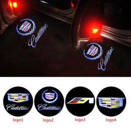 Wholesale Car Door Light Ghost Shadow Welcome Light Logo Projector Emblem For Cadillac For Cadillac SRX SXT ATS CTS