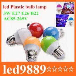 Ampoule en plastique 3w SMD de bulbe de lampe de LED Ampoule en plastique libre de LED à partir de e27 ce smd fournisseurs