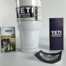 Wholesale Top Yeti Cup Yeti Customized Price oz Insulated Tumbler Vehicle Beer Stainless Steel Mug Yeti Cooler with Lids Logo