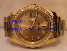 Wholesale Factory Supplier AAA Top Quality Wristwatch Luxury Brand Automatic Mens Watch Men s Watches PRESIDENT mm gold day date