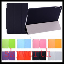 Wholesale Front Smart Cover Back Matte Partner back Case for ipad PRO IPAD air mini Magnetic