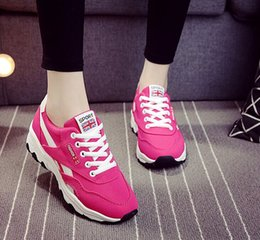 Wholesale Ladies Fashion Trainers - Colorful New Fashion 2016 Casual Air Breathable Canvas Ladies Trainers Shoes For Women Hommes Chaussure Femme Girls Walking Zapatos Mujer