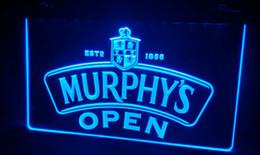 LS445-b Murphy's Beer OPEN Bar Neon Light Sign