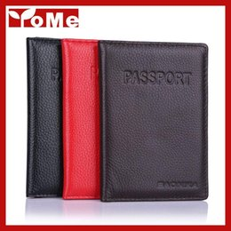 2016 Hot Women & Men Fashion Genuine Leather Travel Passport Holder Cover ID Card Bag Passport Wallet Protective Sleeve,YC959