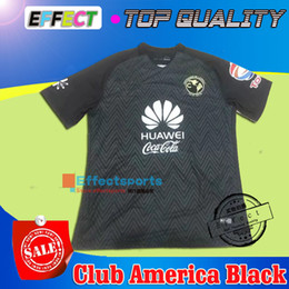 Wholesale Whosales Club America Soccer Jerseys pink TOP QUALITY Club America black Jersey R SAMBUEZA P AGUILAR O Peralta Football Shirt