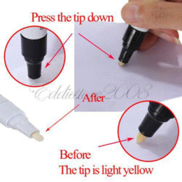 Free Shipping 6pcs White Whatproof Permanent Motorcycle Car Tyre Tire Tread Rubber Paint Marker Pen M40847