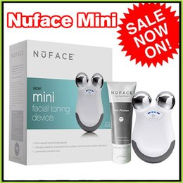 Wholesale Nuface Mini Toning Device Anti Aging Face Massager VS Nuface Trinity Tripollar STOP PMD Pro Smart Profile Alpha Fit Facial Cleanser