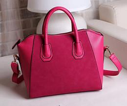 Wholesale Fashion Buckle Simple Women Bag Vintage Ladies Big Lady Bags Design Messenger Shoulder Bags Shopping Handbag Designer Totes F057