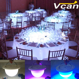 Wholesale NEW DHL best quality waterproof led light lamp for led furniture Super bright under table lighting for weddings