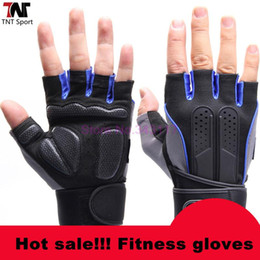 Wholesale-Sports Weightlifting Gloves Breathable Gym Fitness Gloves Dumbbell Men Women Weight lifting Weightlifting Gloves S031