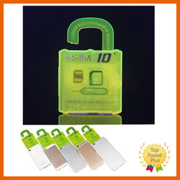 R-SIM 10+ RSIM 10 Plus Unlock Sim Card RSIM10 RSIM10+ for iPhone 4 4s 5 5s se 6 6s plus IOS 9 9.1 9.X GSM CDMA WCDMA NEW