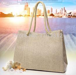 Wholesale Summer style Beach Bag capazos de playa jute beach baskets bags for women messenger bags best handbag brand michael bags totebag