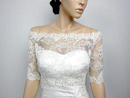 Off-Shoulder Alencon Lace bolero jacket Bridal Bolero Wedding jacket wedding bolero bridal shrug bridal jacket 2016