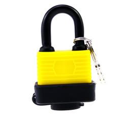 Wholesale 40mm Waterproof Padlock Keyed Alike Laminated Master Locks Gate Door Padlock Chrome Lock Beam Home and Garden Security with Keys
