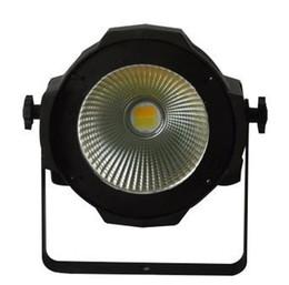 100W LED COB Par Warm White  Natural White Indoor DJ Par Can Light PhCamera TV Station Light Stage Decoration