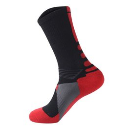 Wholesale Professional Sports Socks with Thick Towels at the end of Their Elite Outdoor Sports Socks Drop Shipping