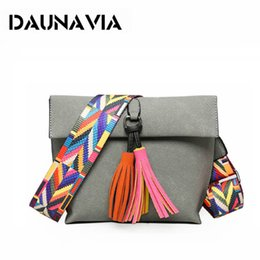DAUNAVIA Ladies' Messenger Bag Tassel Shoulder Bag Shoulder Bag Women Designer Designer Bolsa Feminina Bolsos Muje
