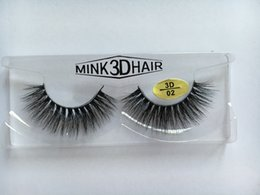 Wholesale Factory supplied price hand made D Korrean technique mink hair real mink fur false eyelashes
