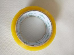 Bopp packing tapes strong force transparent single sided adhesive tapes packing materials for carton sealing 55Y X 44mm