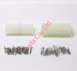 Wholesale 20 sets kit p Automobile wire connector plug plastic terminal plug spring terminals computer