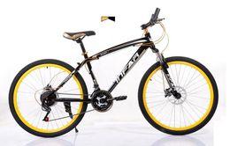 Wholesale 2016 aluminum alloy inches speed mountain bike double disc brake frame men and women students bicycle Mountain Bikes