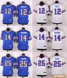 Wholesale 83 Andre Reed Shaq Lawson Marcell Dareus Eric Wood Doug Flutie Bacarri Rambo Football jerseys Stitched