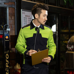 Wholesale SET OFCOAT and PANTS Spring and autumncar beauty coat s car washing service uniform