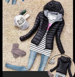 Fall Winter Coats for Ms. Candy-Colored Thick Sleeve Female Long Women Paragraphs hooded thin cotton-padded clothes cotton-padded jacket