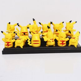 Wholesale 12PCS Set Pokemoner lovely doll Pikachu popular children toys affordable gifts toys