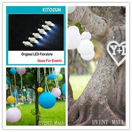 Valentine's Day Decorations 2CR2032 Batteries Hanging Single LED Paper Lantern Light China Wholesale 100pcs  lot Free Shipping