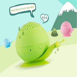 Bestselling Wireless Snail Bluetooth Speaker Novelty with Mini Cell Phone Holder Bluetooth Speaker Sound box Wholesales 1pcs Lot