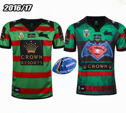 Wholesale Top Thailand quality South Sydney rabbit NRL rugby jersey Australia South Sydney hare Rugby Shirts size S XXXL