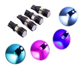 High Power Car Bulbs T10 147 152 158 Wedge 4LED 5050+1W High Power Dashborad License Plate Light Bulb