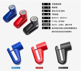 Wholesale Anti theft Disk Disc Brake Rotor Lock For Scooter Bike Bicycle Motorcycle SafetyLock For Scooter Motorcycle Bicycle Safety