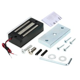 Wholesale Mini Electric Lock KG lb Magnetic Lock For Door Fail Secure DC V for Door Entry Access Control System