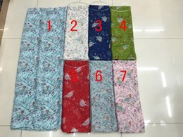 Wholesale 2016 Hot Sale Fashion Cherry Branch And Bird Print Scarves And Shawls Bird Wrap Hijab Mix Color