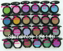 Free Shipping New MC Brand Makeup 1.5g single eyeshadow 24pcs lot ( Send mixed colors )