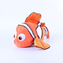 Wholesale 2 style Finding Nemo plush toys inch Finding dory Stuffed Animals cm super soft doll good quality EMS C876