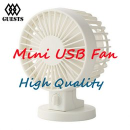 Wholesale Adjustable Speed USB Portable Desk Mini Fan with Switch for Office Use DC V mA Super Mute Cooler High Air Flow High Quality