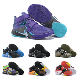 Wholesale Drop Shipping Basketball Shoes Men Retro Lebron Soldier Sneakers Boots Authentic Hot Sale LB Outdoor Sports Shoes Size