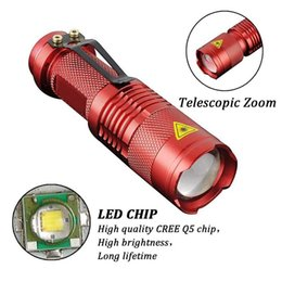 2000LM LED Flashlight LED CREE Q5 Mini Bicycle Light LED Light Torch 3 Modes Zoomable Light Waterproof