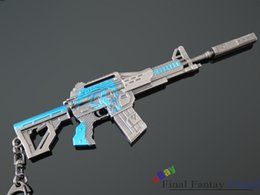 Wholesale NIB Cross Fire Weapon Assault Rifle M4A1 Absolute shadow Gun Metal Model Gift to US cool Gift