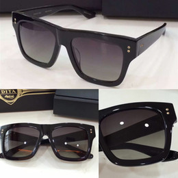 Wholesale Dita sunglasses new dita Creator sunglasses brand designer men brand designer sunglasses coatiing mirror lens vintage retro style