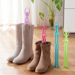 Wholesale 10pcs Boots Supporter Shaper Shaft Keeper Holder Organizer Storage Hanger Cheapness New Creation Shoe Parts Accessories Colors ZJ16 S10