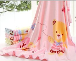 Wholesale 105 cm New style baby bath towel mill MAO printed towelling coverlet superfine fibers Children s Towels Robes free fedex shipping
